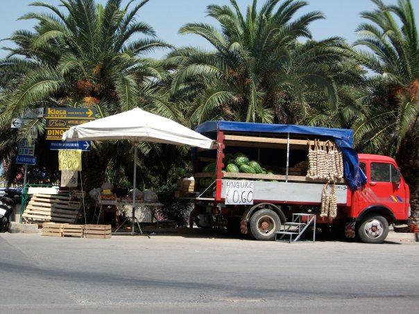 cookbook photo - watermelon truck